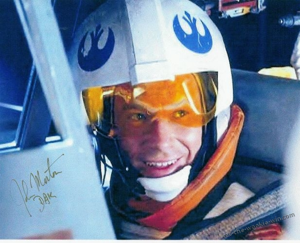 John Morton is best known as Dak, Luke Skywalker's back-seater in the Battle of Hoth, The Empire Strikes Back. John is also a member of the Museum's Board of Advisors.