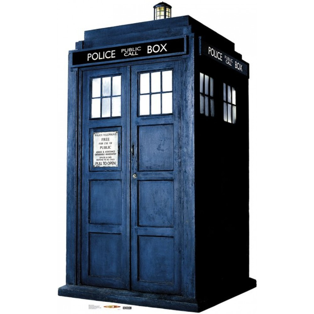 Time Travel: Original version TARDIS in Doctor Who