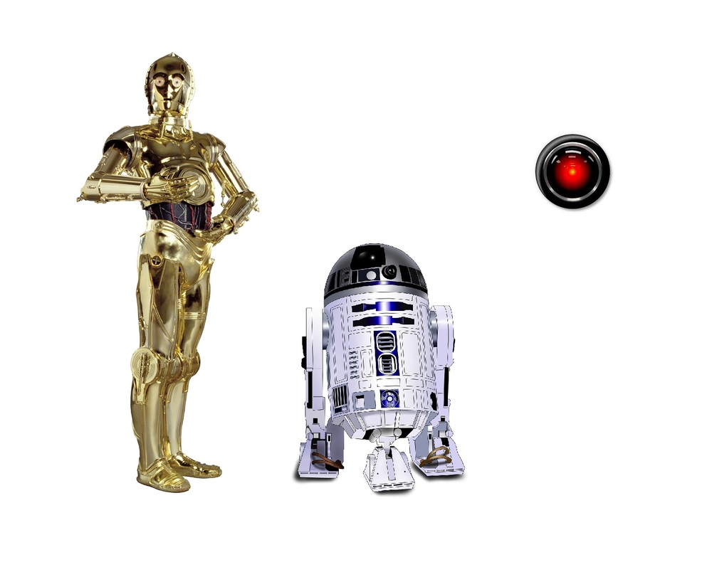 Robots and Computers: C-3PO, R2-D2, and HAL 9000