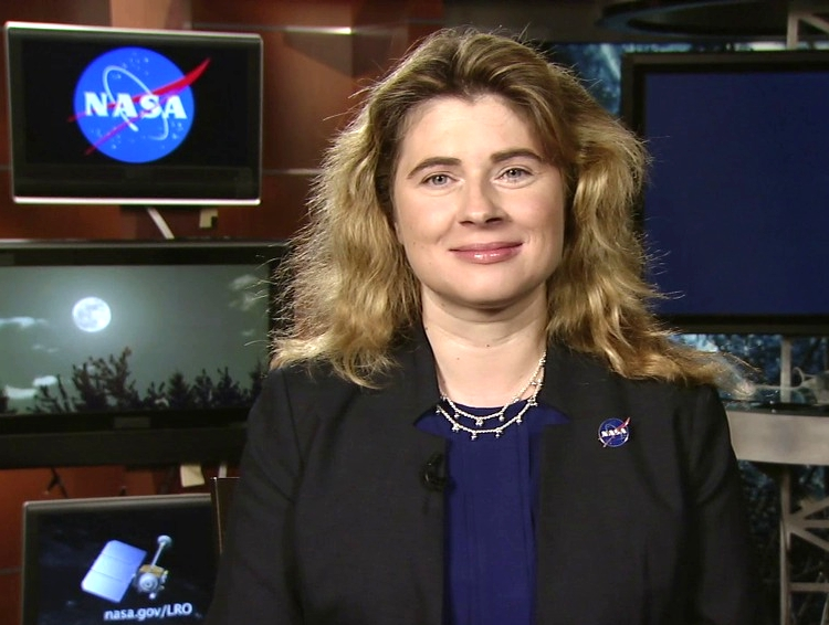 Michelle Thaller PhD,  astronomer and research scientist, assistant director for Science Communication at NASA's Goddard Space Flight Center.