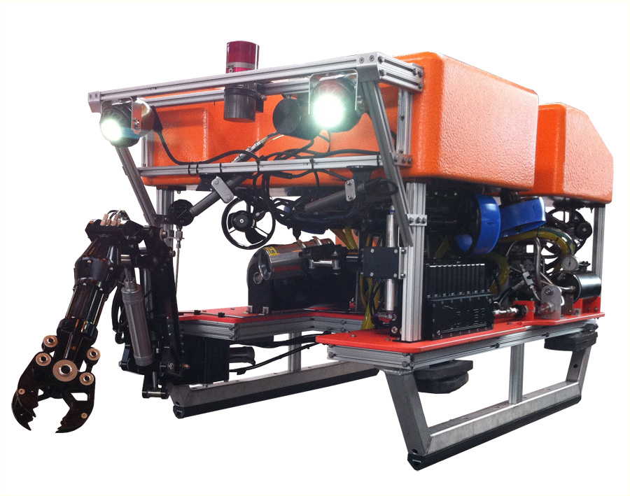 The DOER H2000 is a ultra compact work class ROV