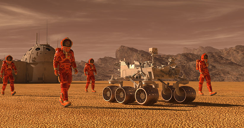 Is a colony on Mars just a matter of time?