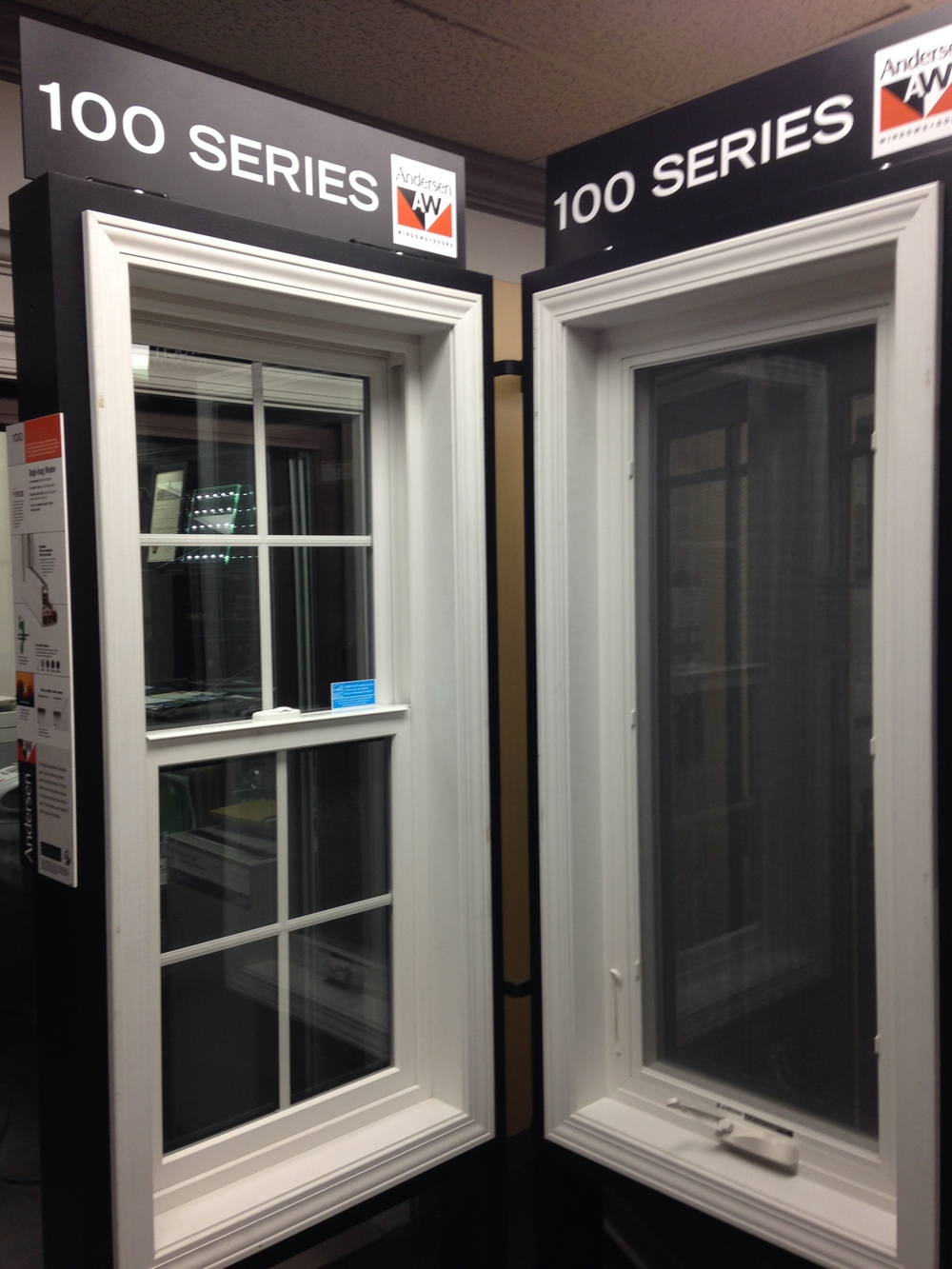 ACE Glass carries Andersen 100 Series Windows and Doors.