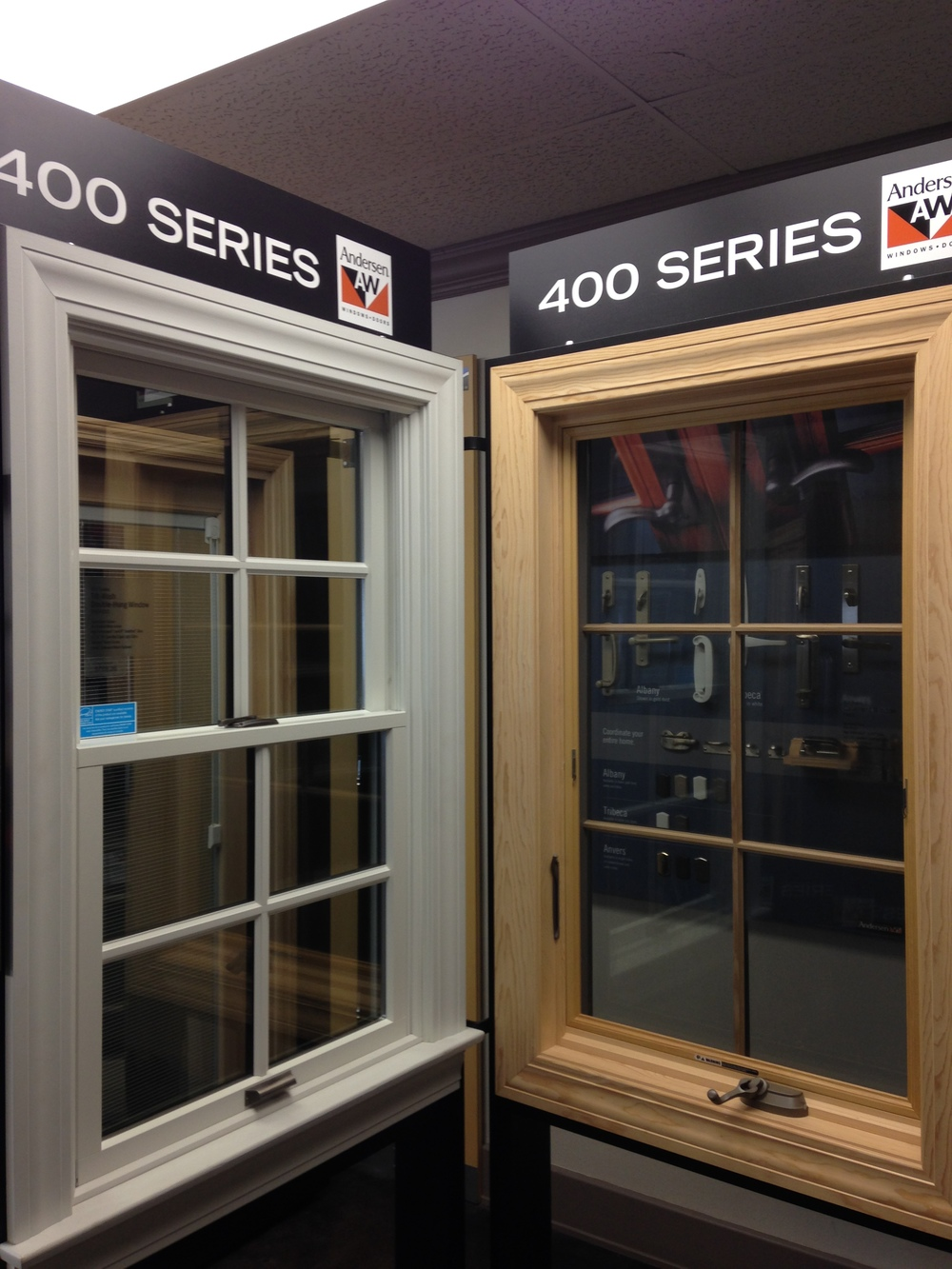 ACE Glass Carries Andersen 400 Series Windows And Doors.