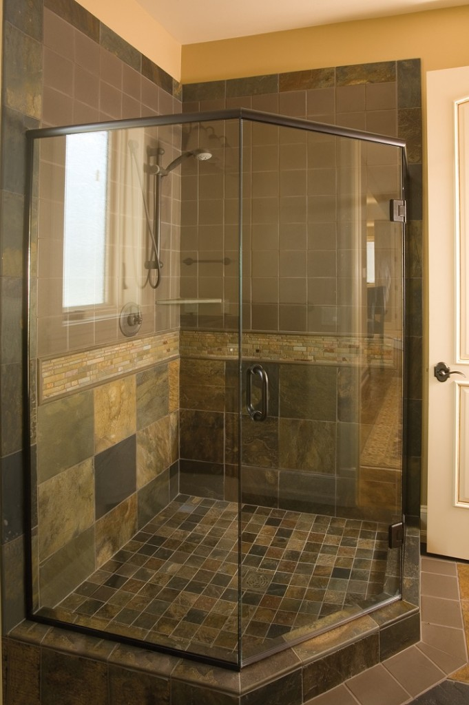 Semi Framed Shower Page Ace Glass Construction