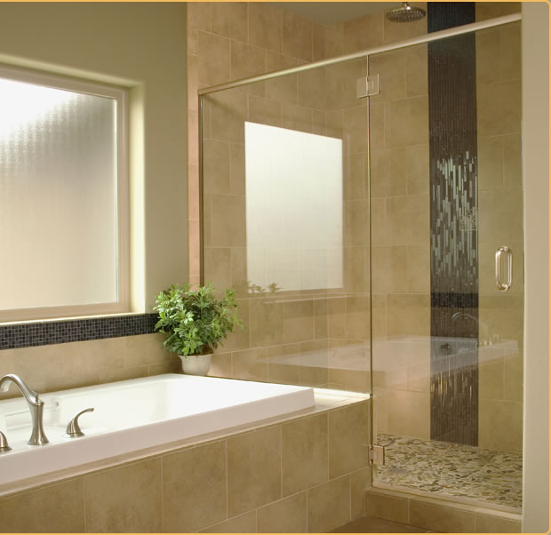 Semi-Framed Shower Doors