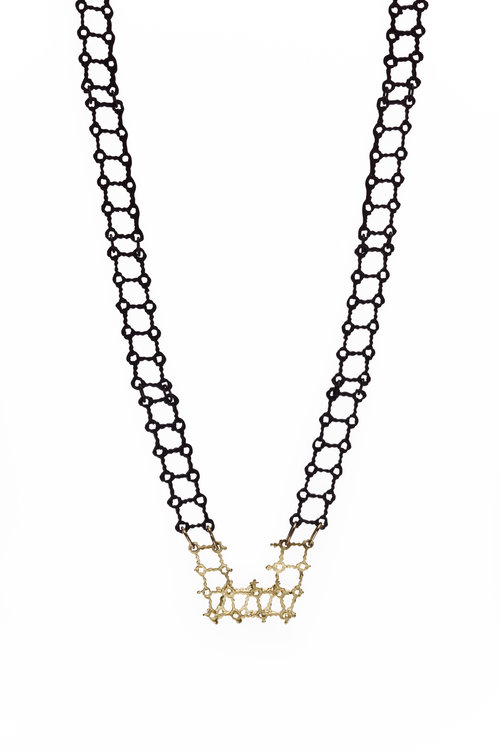 entwined grace valour by linked baby original graceandvalour necklace sterling hearts product silver and gold new