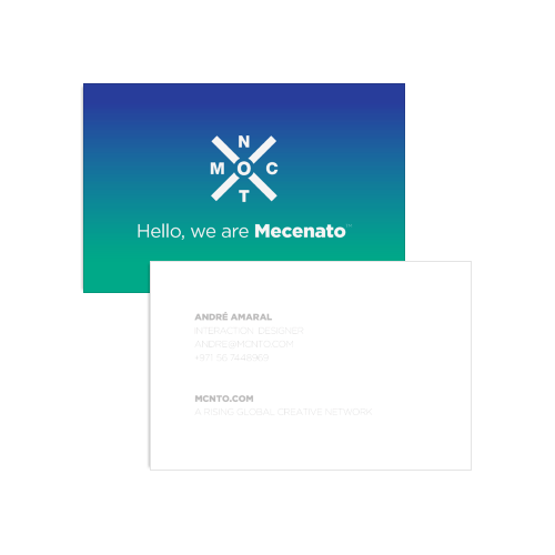 Mecenato business cards