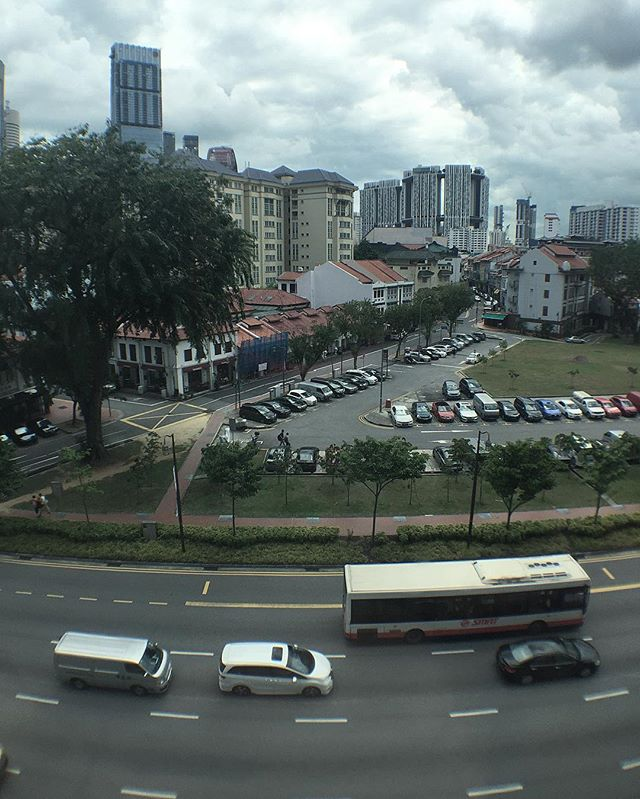 Wide-angled #singapore, around Club Street area.