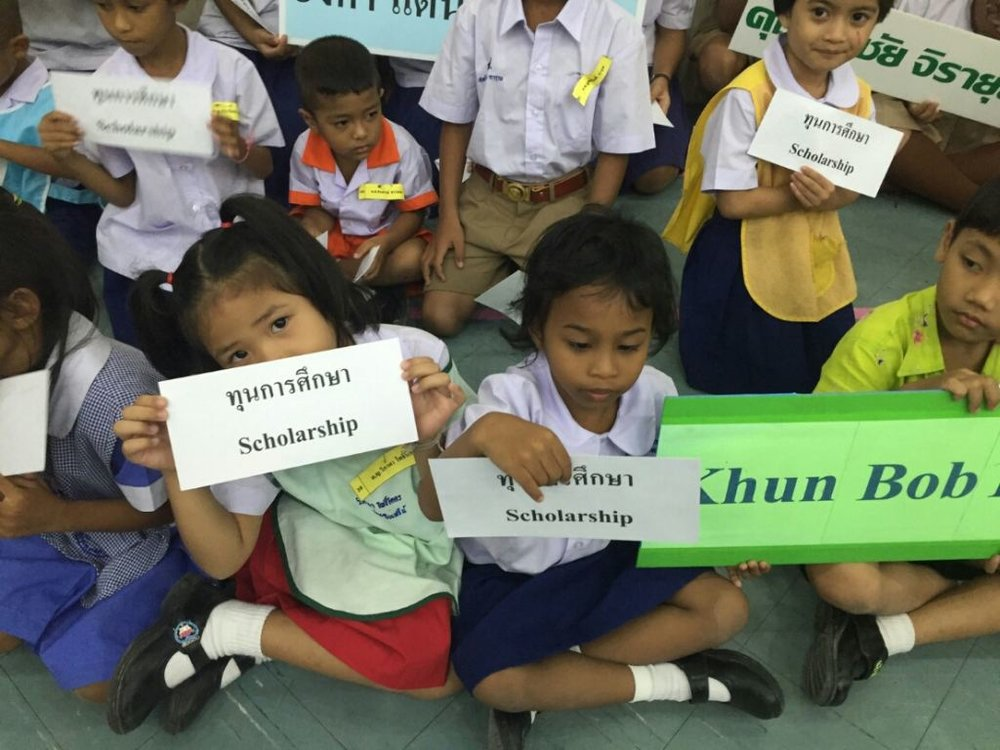 2016 Scholarship drive at Child Watch Phuket