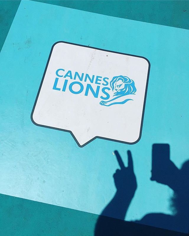 It's game on! #canneslions2017 #canneslions