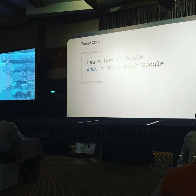Google Cloud OnBoard is about to start. #cloudonboard #singapore #google
