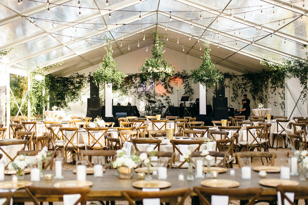 Lyons Events Clear Top Tent