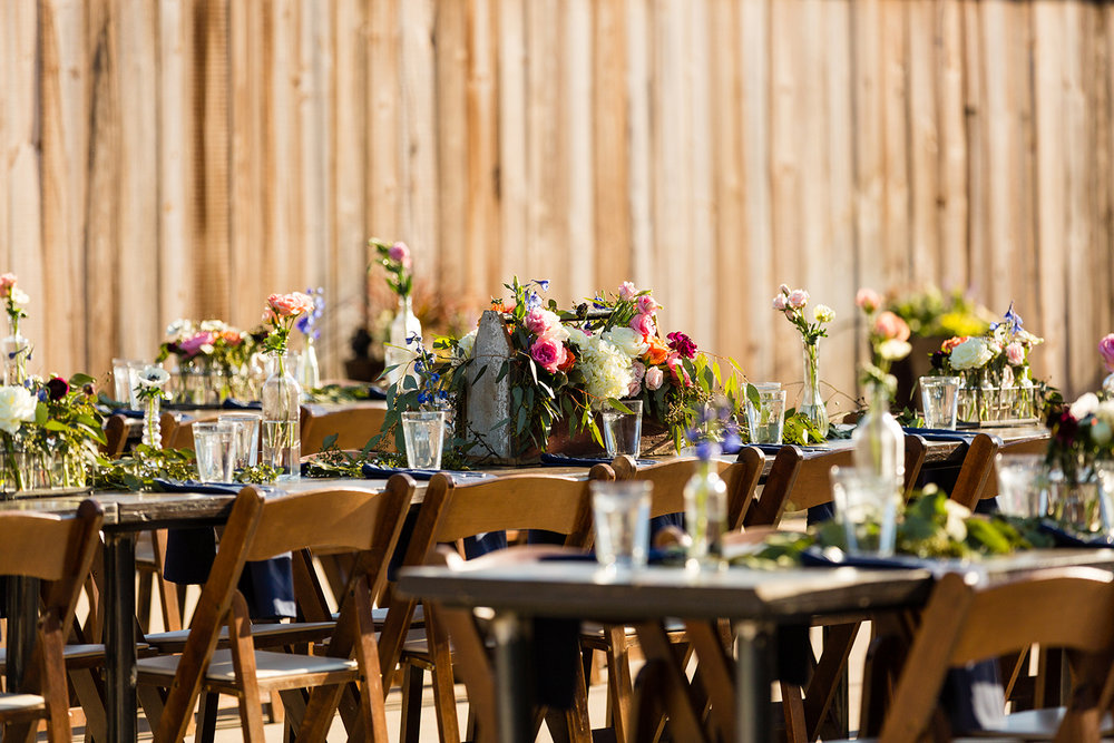 Lyons Events Farm Tables