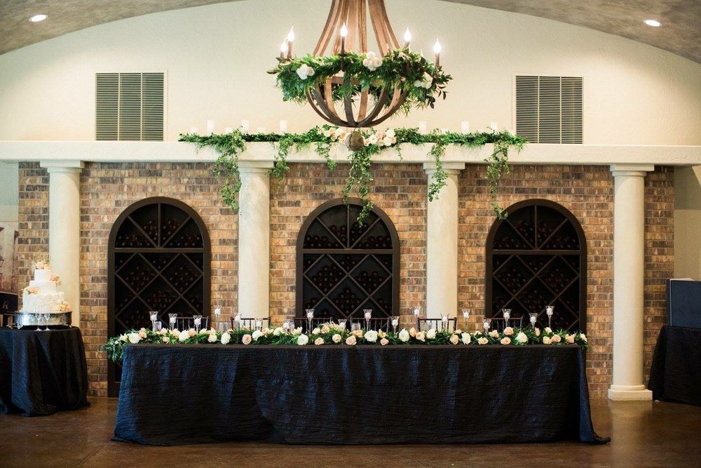 Lyons Events Head Table