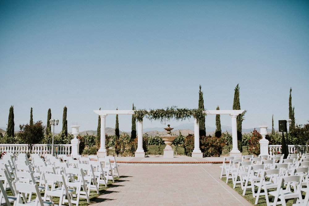 Bridal Musings Feature - Temecula Winery Wedding