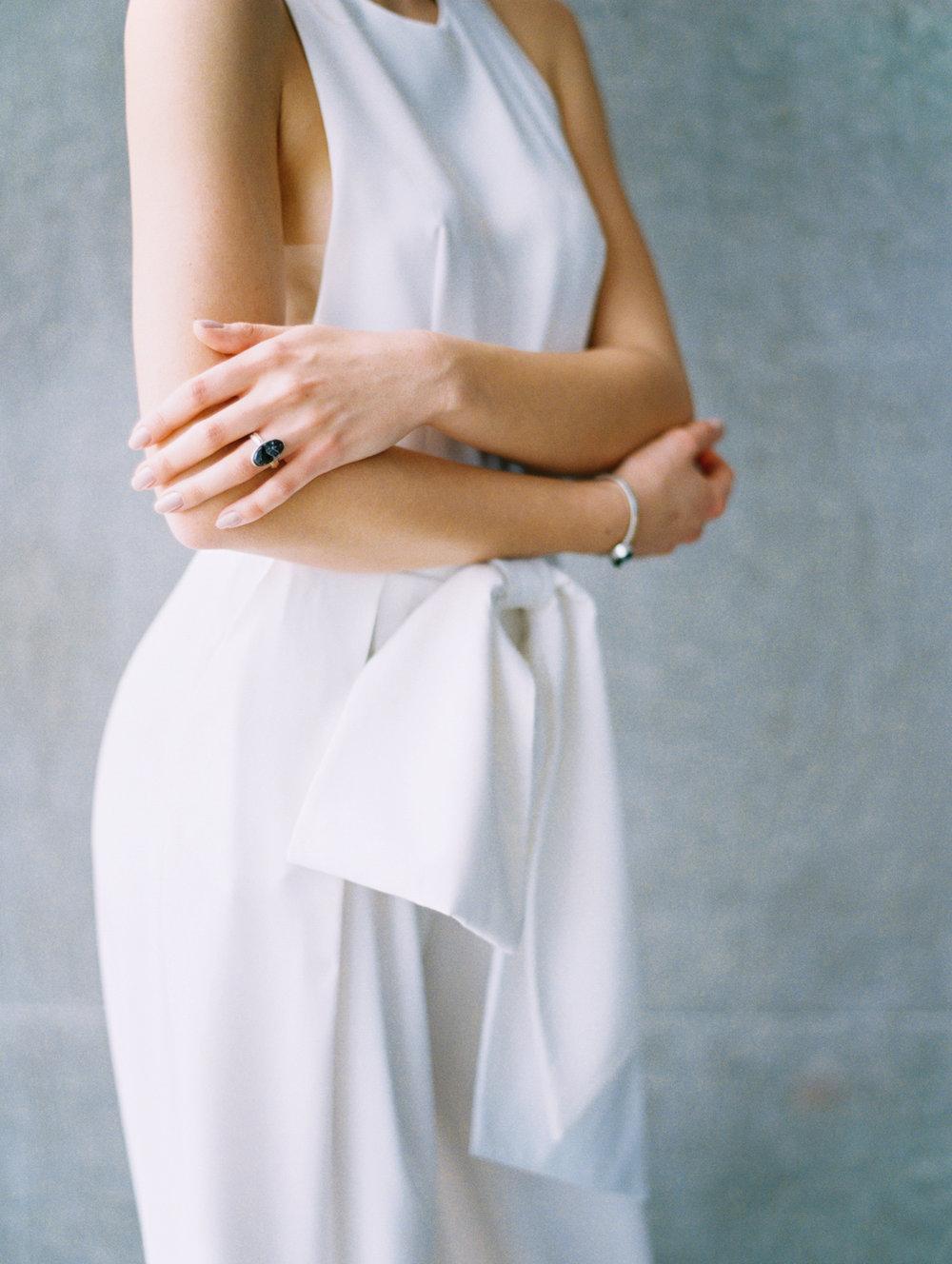 Lyons-Events-White-Jumpsuit-Wedding-Elizabeth-Leese-Bridal