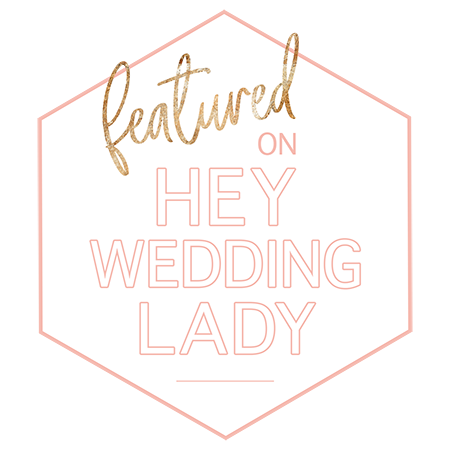Hey Wedding Lady Featured Badge