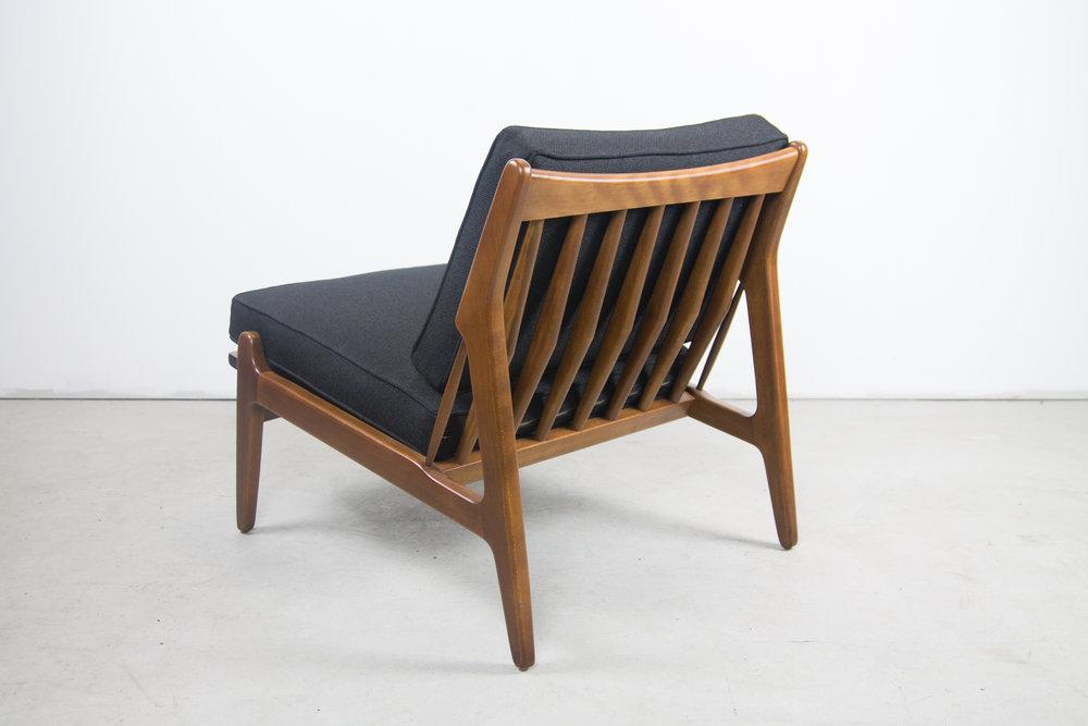 Rare Poul Jensen Slipper Chair