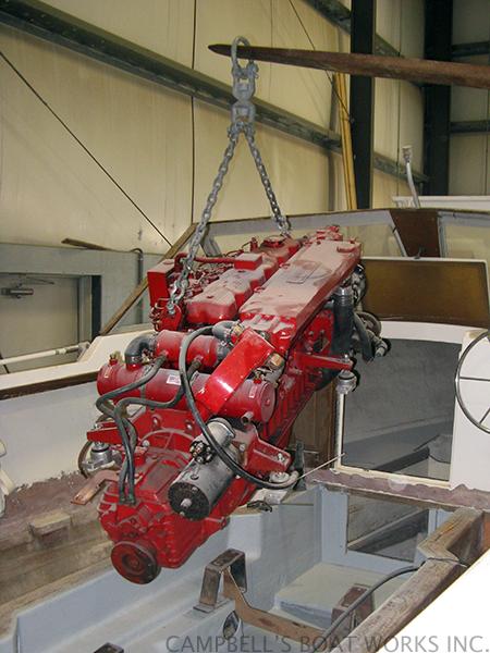 Westerbeke Inboard Installation, Bourne, Cape Cod