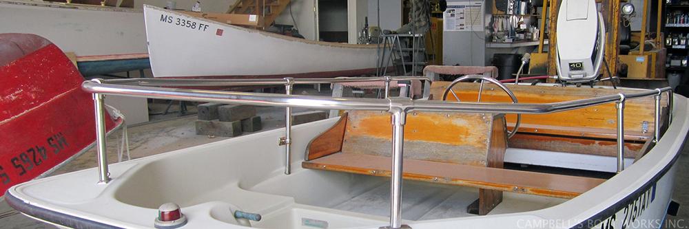 Fiberglass and Wooden Boat Repair, Refinishing, Restoration Falmouth, Bourne, Cape Cod