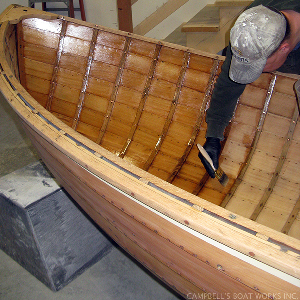 Brite Work and Varnish, Wooden Boat Refinishing and Maintenance