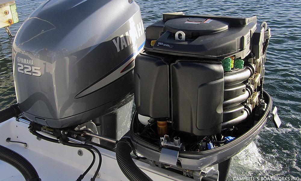 какой штраф за использование лодочного мотора