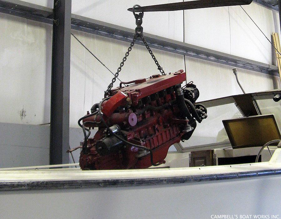 Inboard Motor Installation