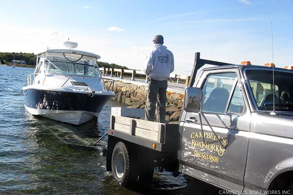 Fall Boat Haul, 27' Edgewater