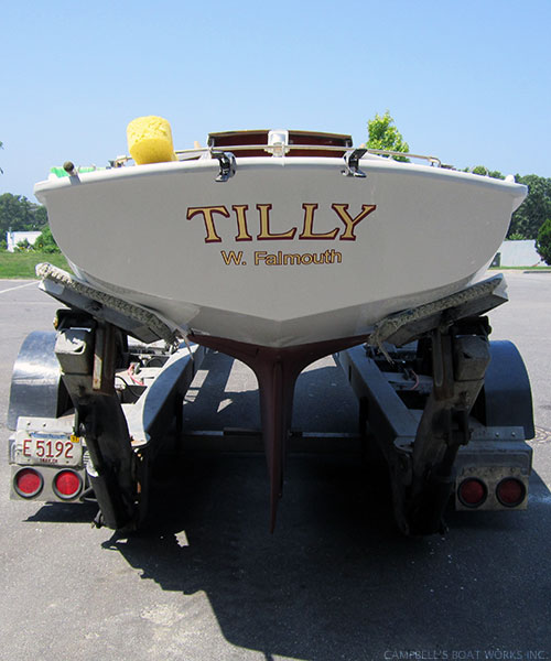 Tilly Transom After Restoration