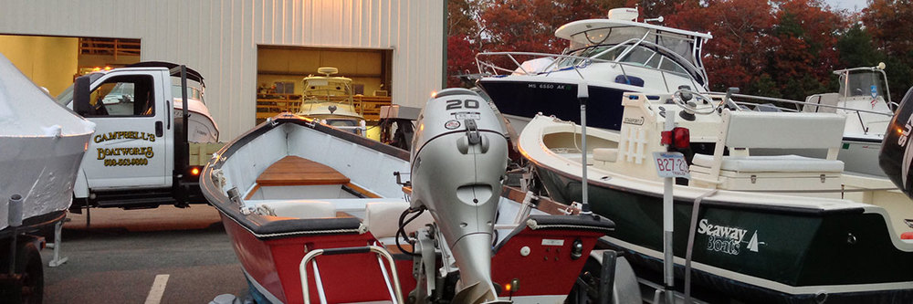 Boat and Motor Repair, Maintenance, Hauling, Storage Falmouth, Bourne, Cape Cod