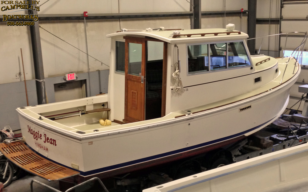 28' Hardtop Cape Dory Powerboat For Sale