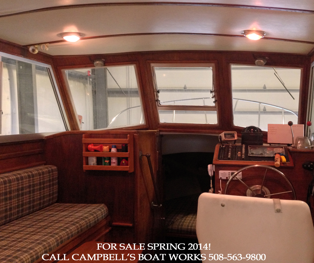 28' Cape Dory Hardtop Trawler For Sale