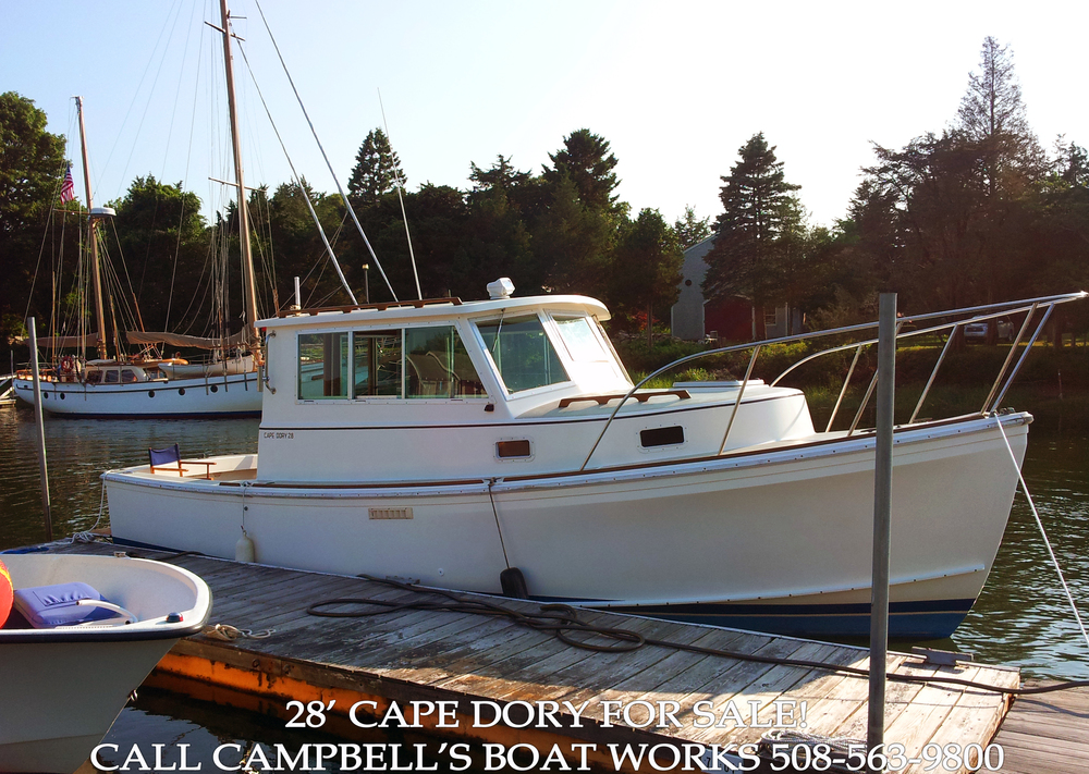 28' Cape Dory — Campbell's Boat Works Inc.