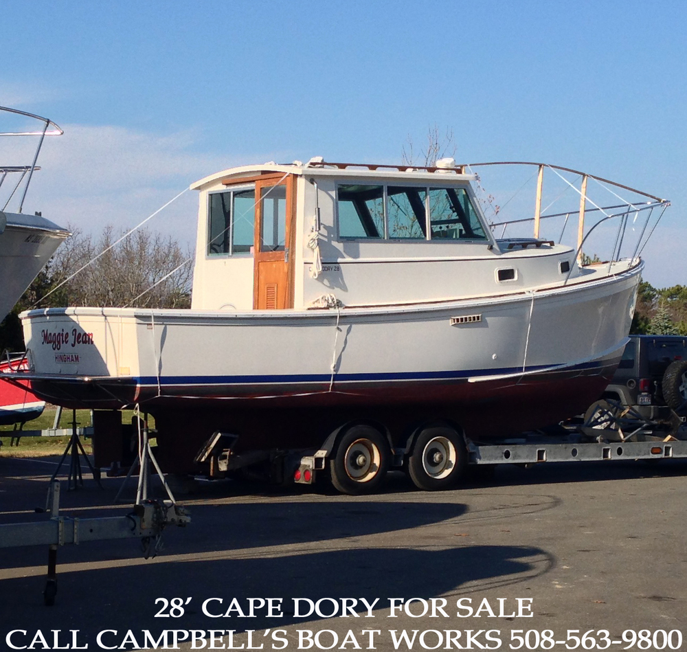 28' Cape Dory Hardtop Cruiser For Sale