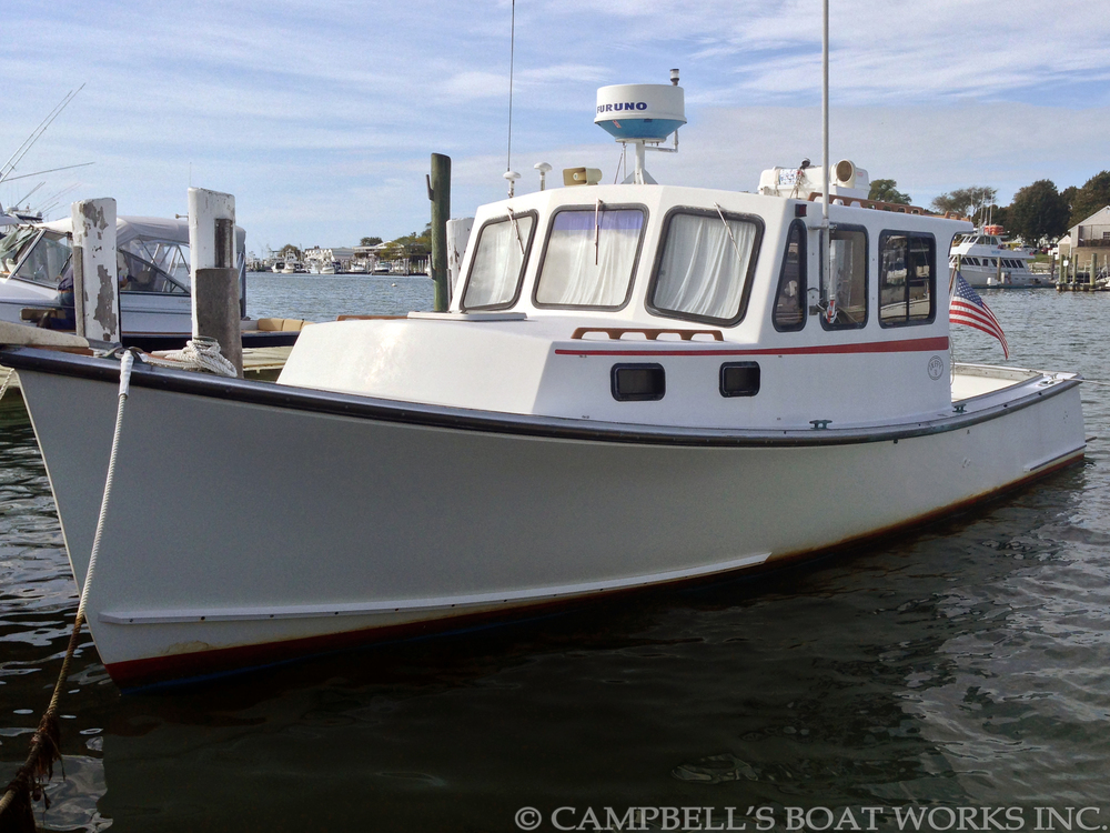Boats for sale campbell 39 s boat works inc for Fishing pontoons for sale