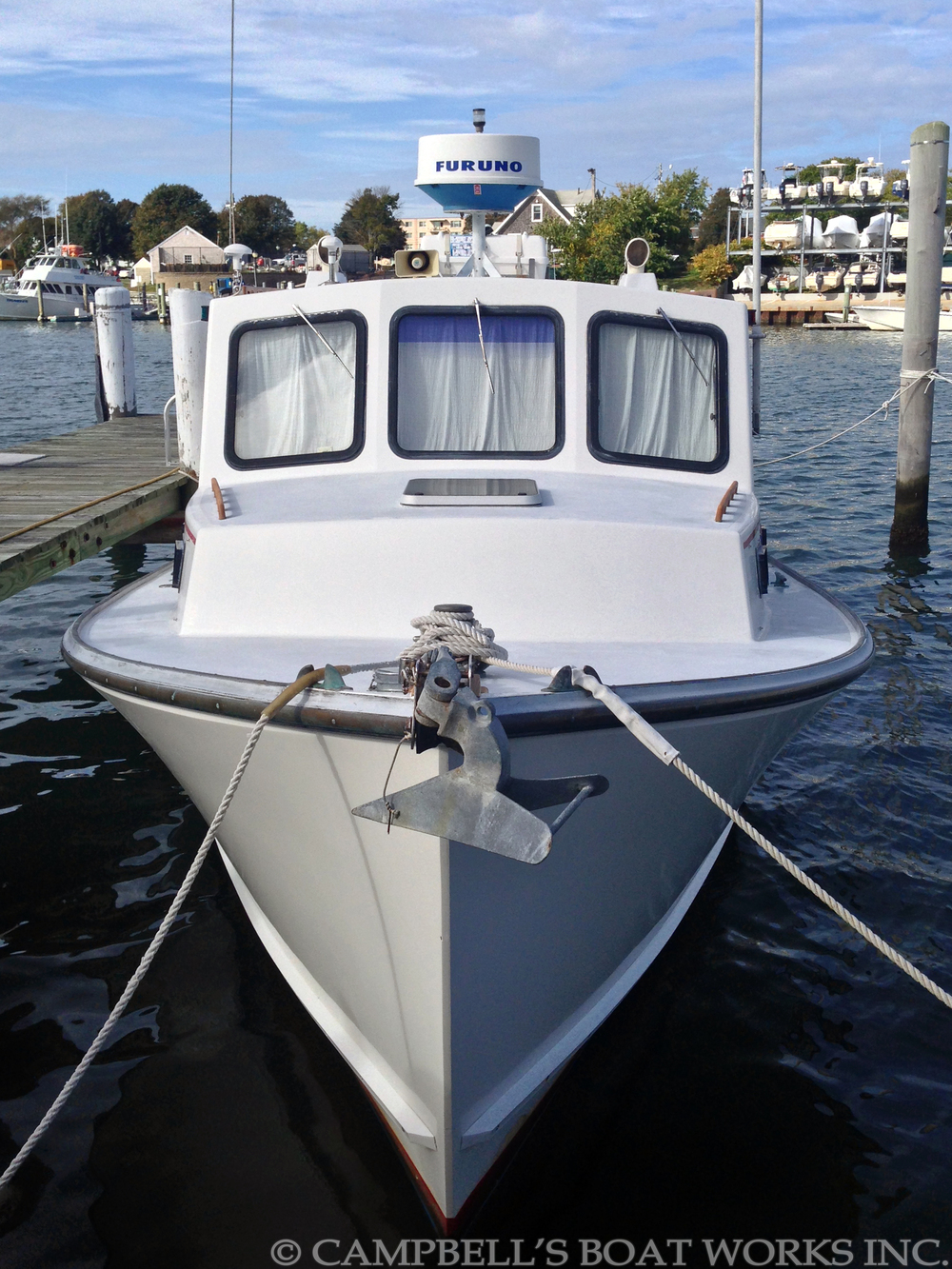 Sales campbell 39 s boat works inc for Downeast fishing gear