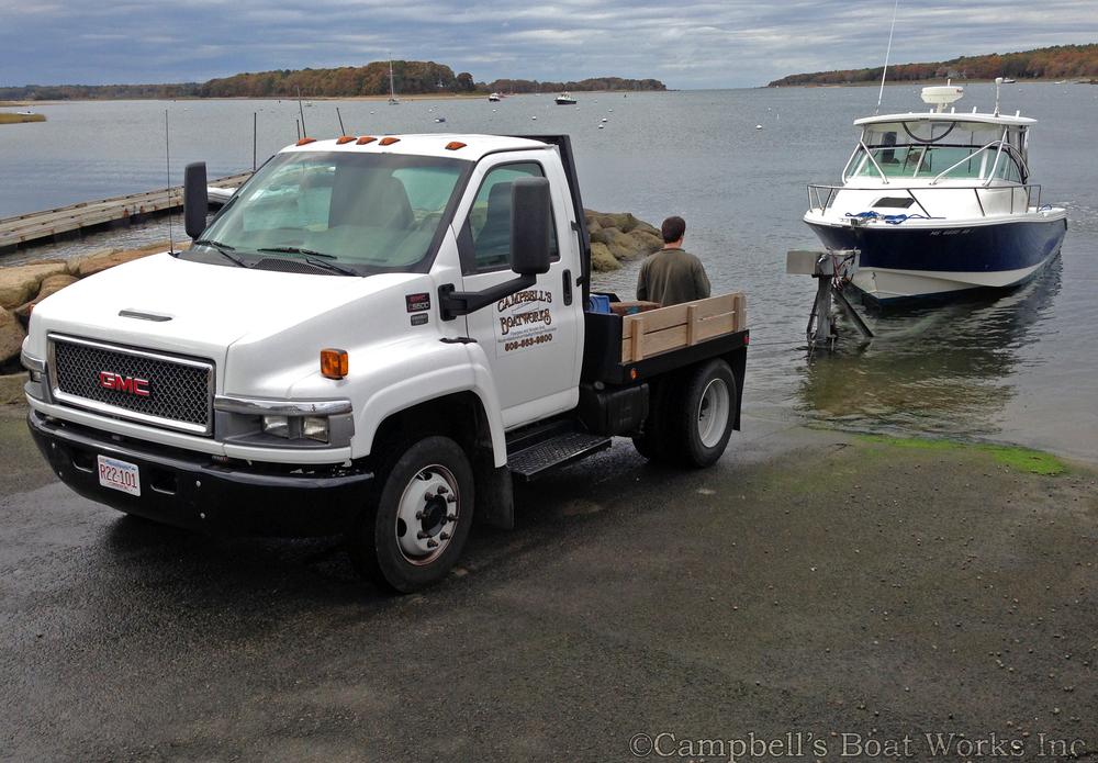 Boat Hauling Service Bourne Cape Cod