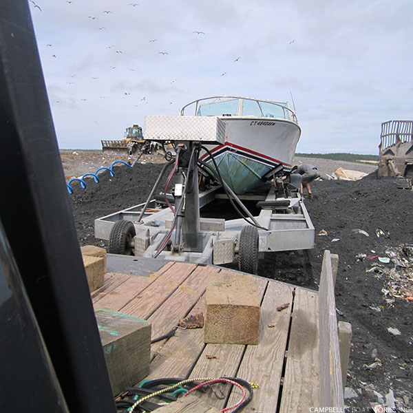 Boat Removal and Disposal Service Cape Cod Massachusetts
