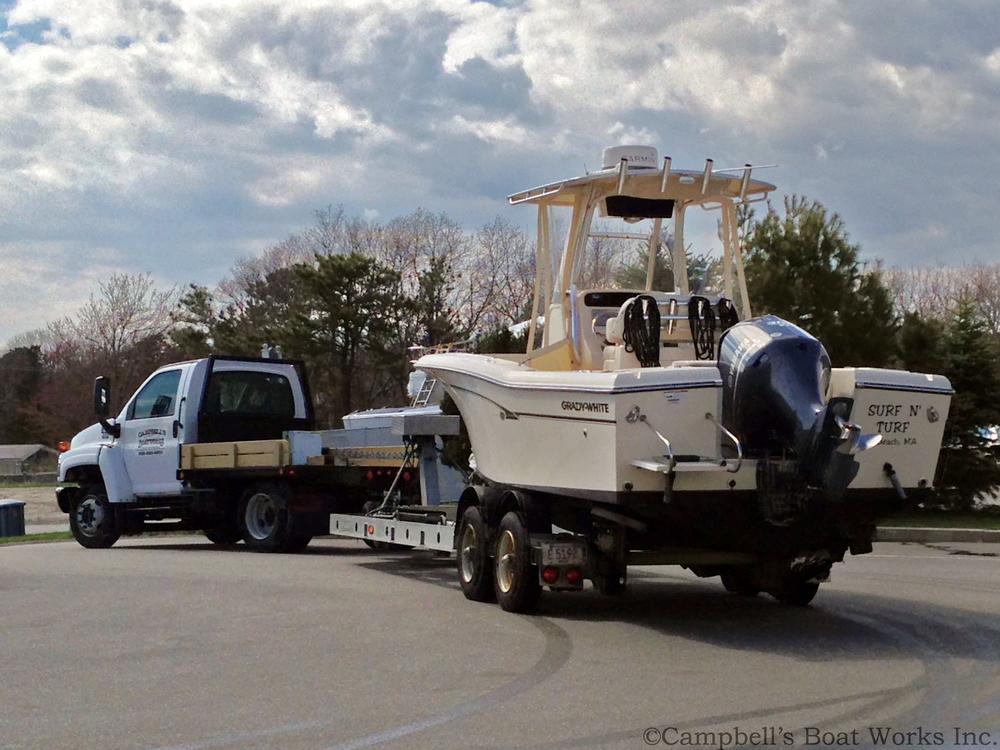 Boat Hauling Service Falmouth Massachusetts