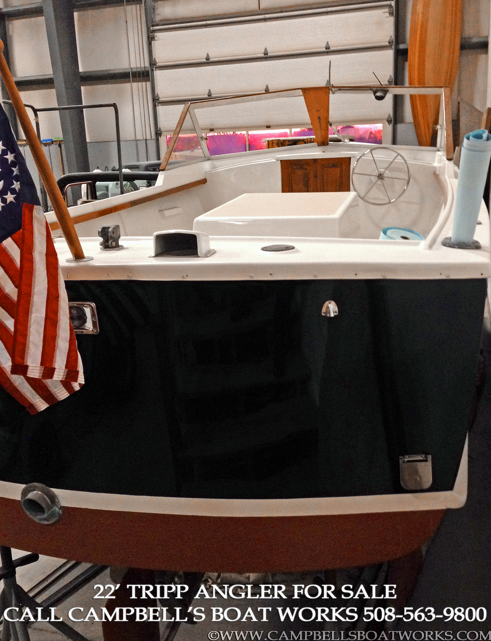 Downeast Boat For Sale 22' Tripp Angler 2014