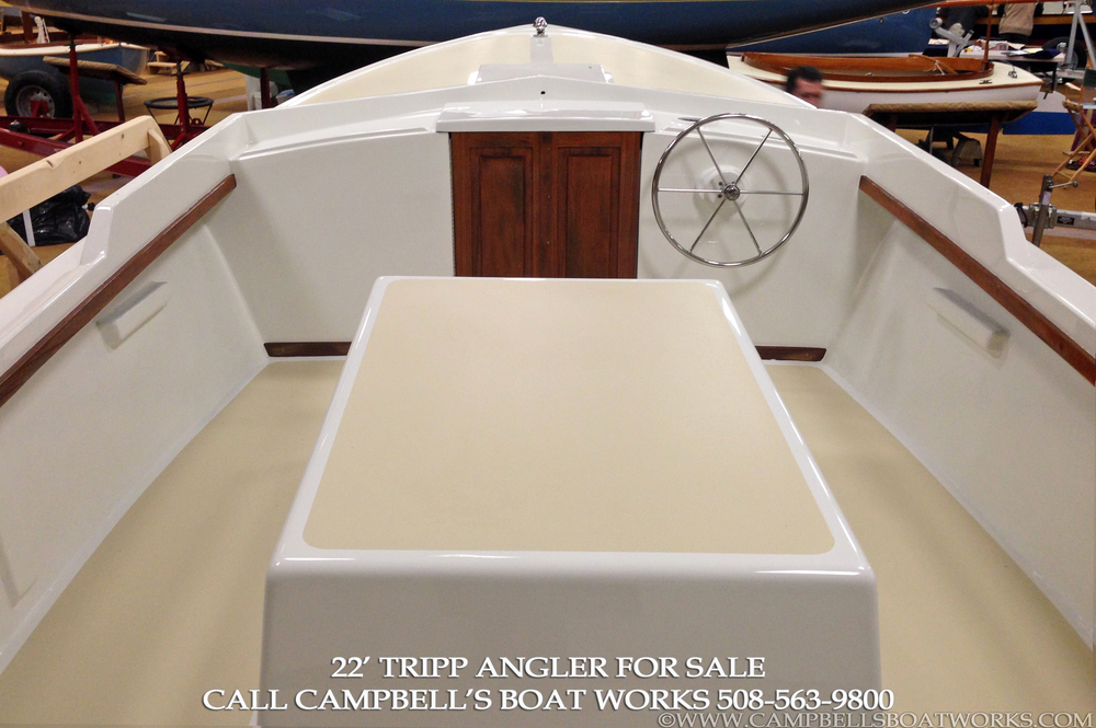 22' Tripp Angler for Sale