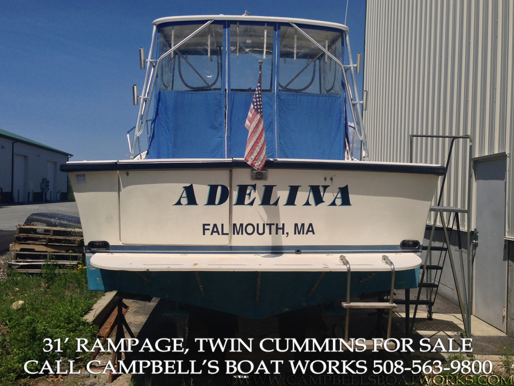 1990 31' Rampage Sportfish For Sale