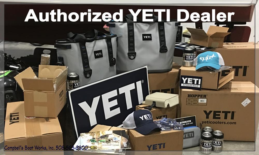 Authorized YETI Cooler Dealer