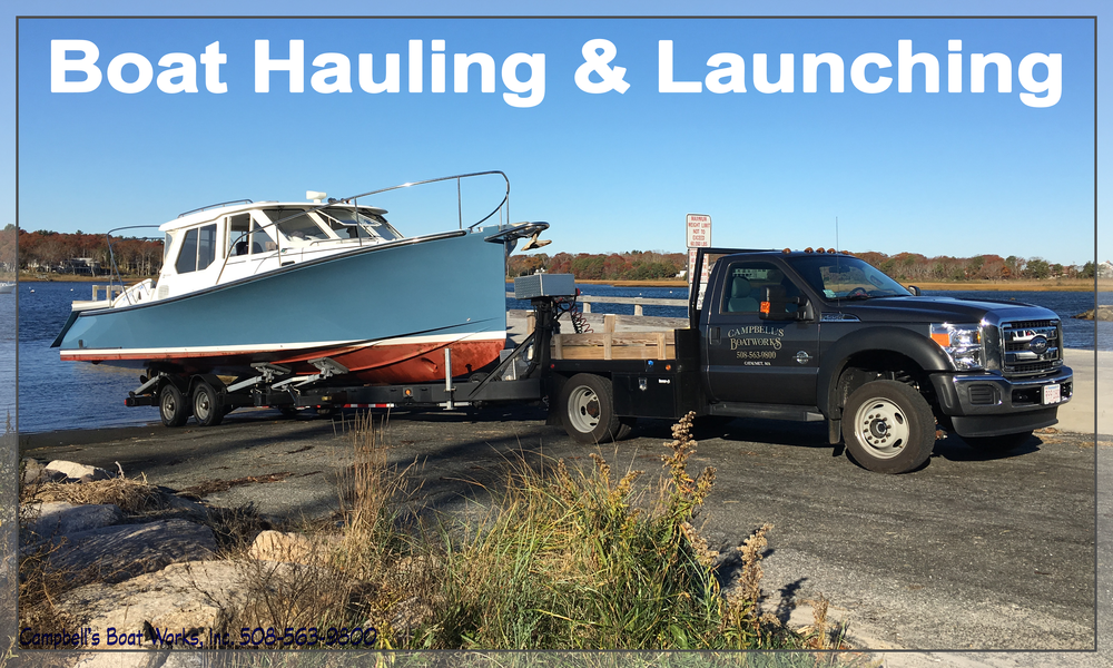 Boat Hauling Launching Transport Cape Cod