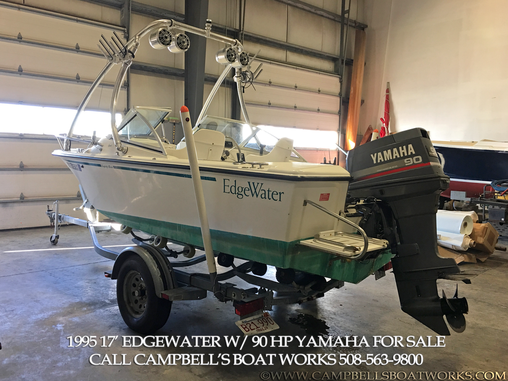 17 edgewater dual console boat for sale campbell 39 s boat for 90 hp yamaha outboard motor for sale
