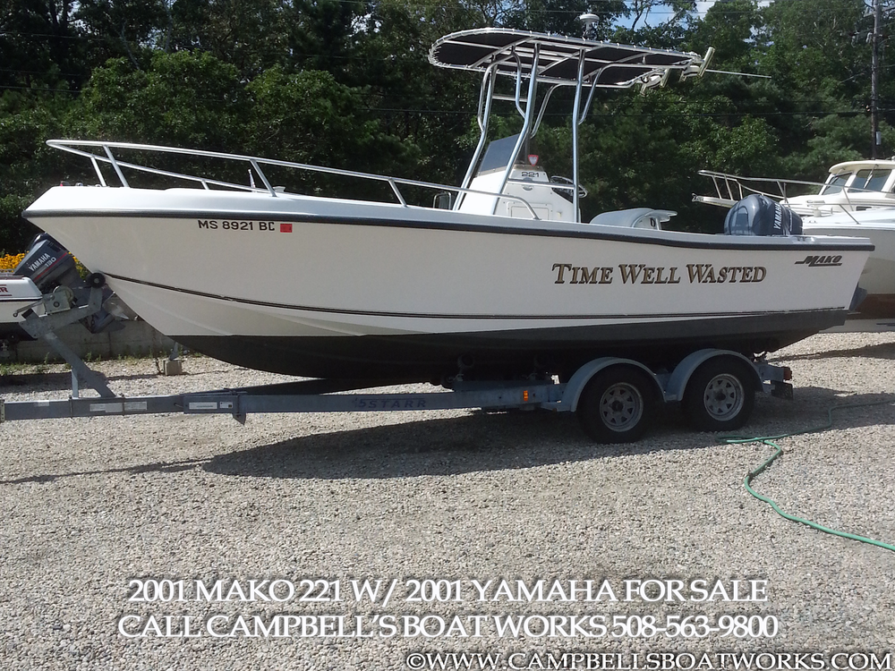 22 Mako Center Console Campbell 39 S Boat Works Inc