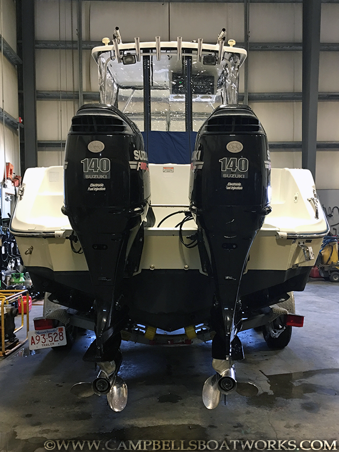 Hardtop twin outboard 23'! Call us for more information or to come view this boat. 508-563-9800