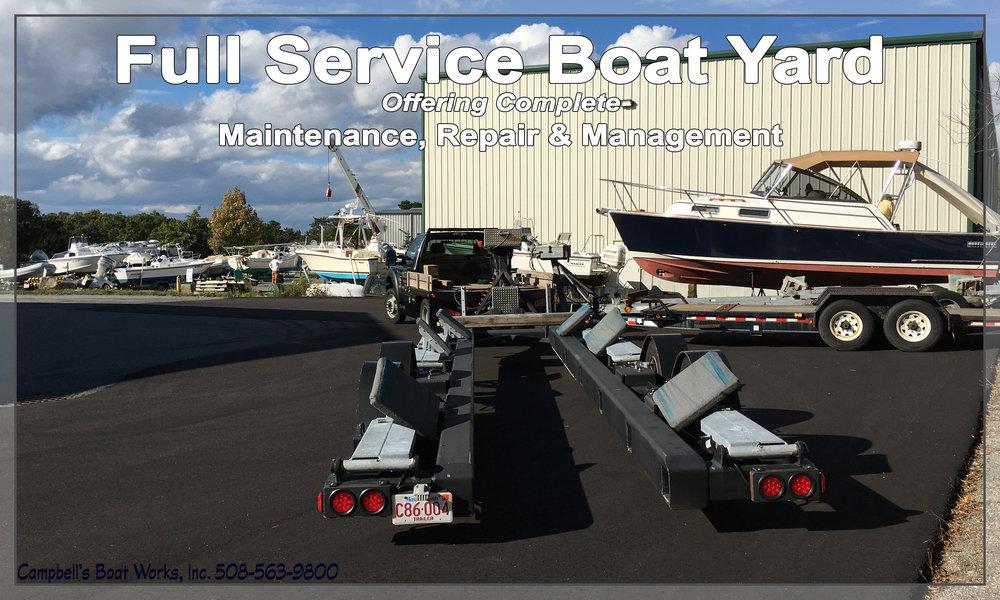 Full Service Boat Yard Boat, Motor & Trailer