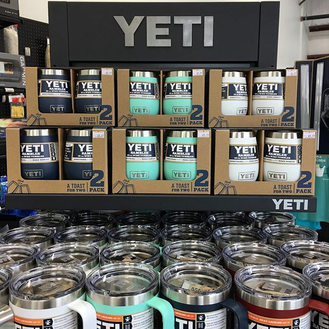 The Yeti Wine Tumblers have arrived, just in time for Holiday giving and gatherings! Harbor Pink coming next week.  #yeti #gift #capecod #wine #party #secretsanta #christmas #alliwantforchristmas #happyholidays